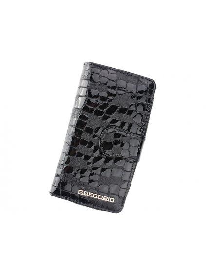 Dámská kožená peněženka Gregorio FS-116 černá