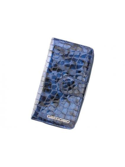 Dámská kožená peněženka Gregorio FS-116 modrá