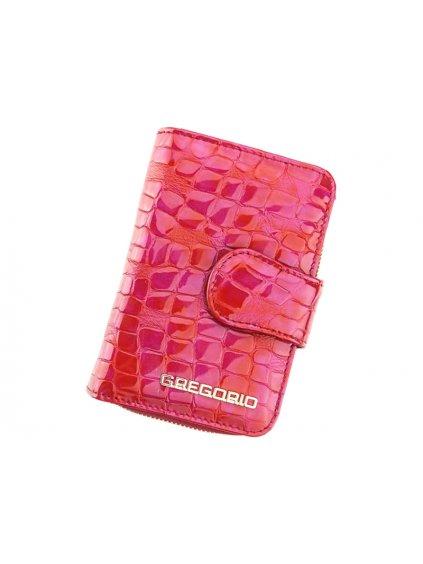 Dámská kožená peněženka Gregorio FS-115 červená