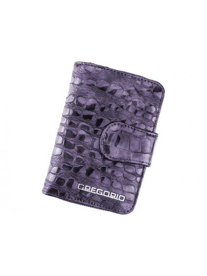 Dámská kožená peněženka Gregorio FS-115 fiaová
