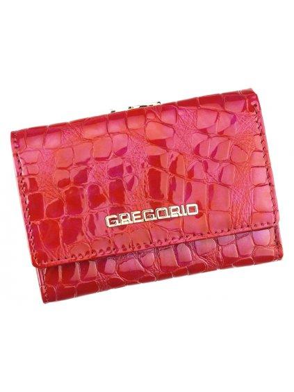 Dámská kožená peněženka Gregorio FS - 117 červená