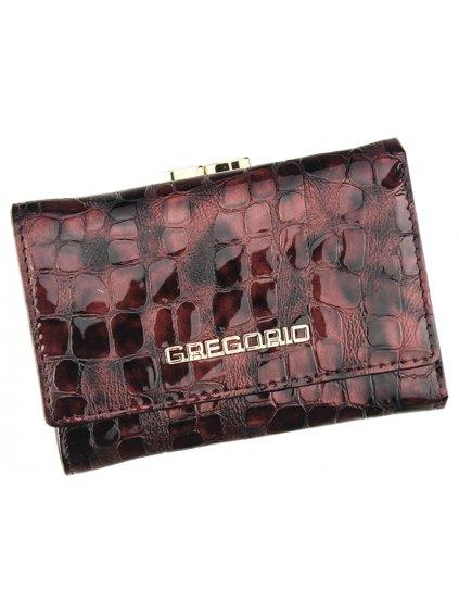 Dámská kožená peněženka Gregorio FS - 117 světle fialová