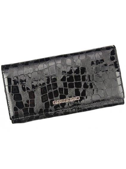 Dámská kožená peněženka Gregorio FS-114 černá