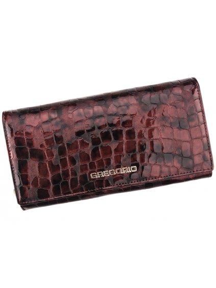 Dámská kožená peněženka Gregorio FS-106 světle fialová