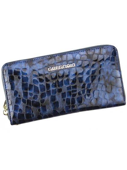 Dámská kožená peněženka Gregorio FS-118 modrá