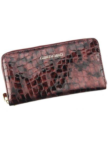 Dámská kožená peněženka Gregorio FS-118 světle fialová