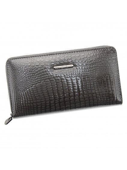 Dámská kožená peněženka Jennifer Jones 5247 šedá