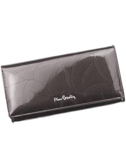 Dámská kožená peněženka Pierre Cardin 02 LEAF 102 šedá