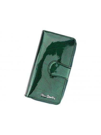 Dámská kožená peněženka Pierre Cardin 02 LEAF 116 zelená