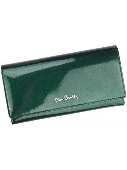 Dámská kožená peněženka Pierre Cardin 05 LINE 106 zelená