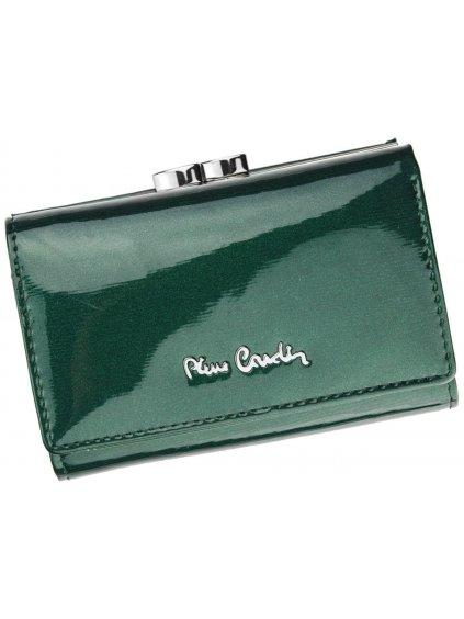 Dámská kožená peněženka Pierre Cardin 05 LINE 117 zelená
