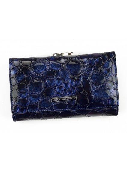 Dámská kožená peněženka Gregorio FZ-108 modrá