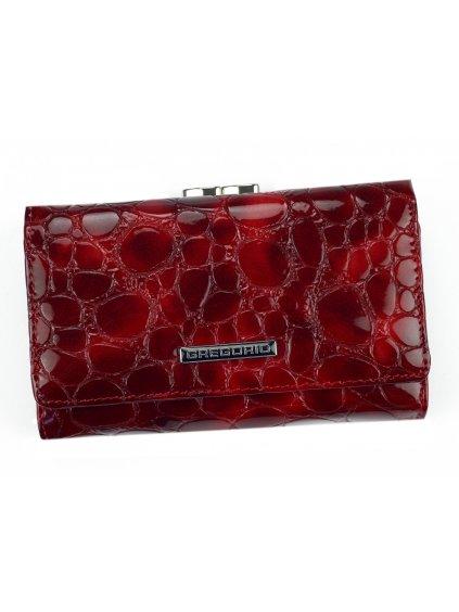 Dámská kožená peněženka Gregorio FZ-108 červená
