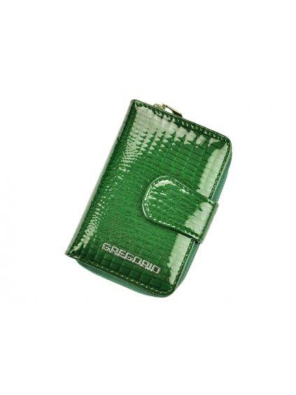 Dámská kožená peněženka Gregorio GF115 zelená