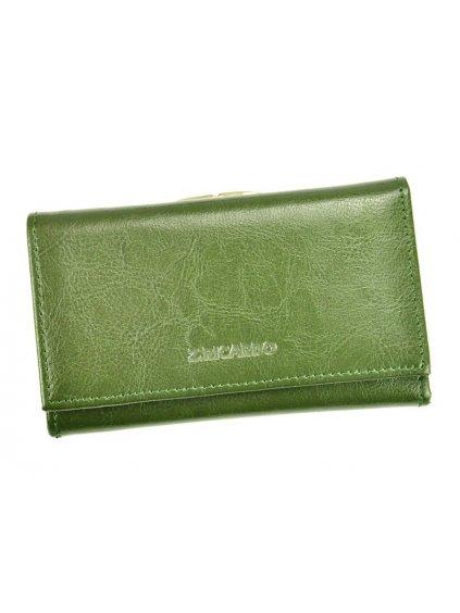 Dámská kožená peněženka Z.Ricardo 042 zelená