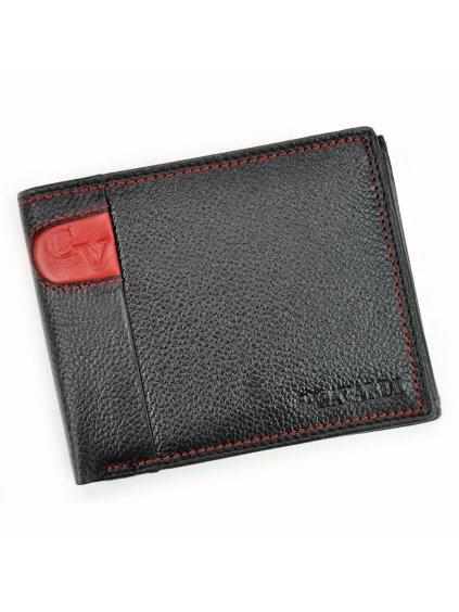 Pánská kožená peněženka Cavaldi N992-SCV červená