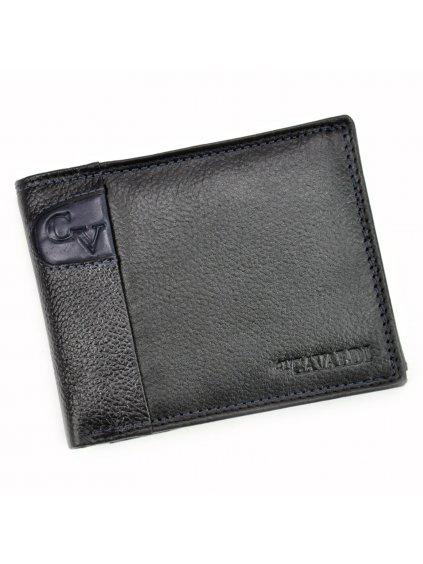 Pánská kožená peněženka Cavaldi N992-SCV modrá