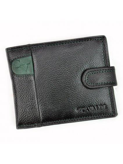 Pánská kožená peněženka Cavaldi N992L-SCV zelená