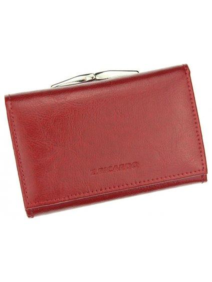 Dámská kožená peněženka Z.Ricardo 025 červená