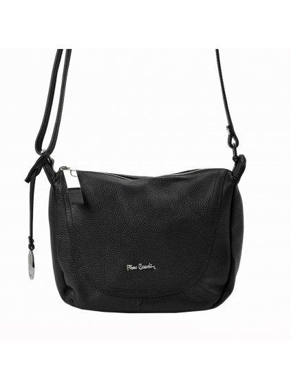 Kožená crossbody kabelka Pierre Cardin FRZ 1721 černá