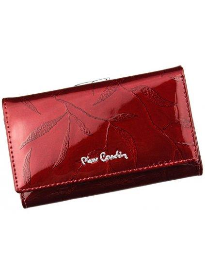 Dámská kožená peněženka Pierre Cardin 02 LEAF 108 červená