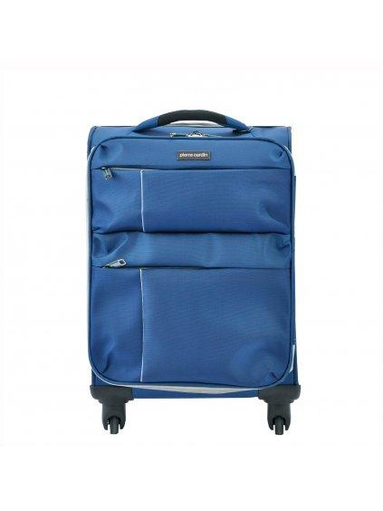 Cestovní kufr Pierre Cardin DAVID03 SH-6907 M modrý