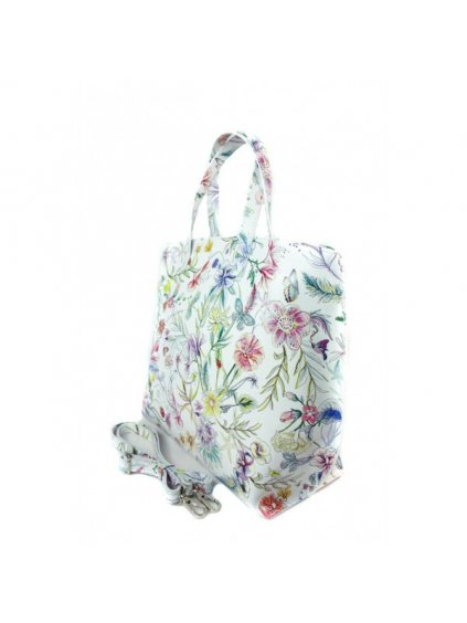Dámská kožená kufříková kabelka Vera Pelle M03 L vzor 1