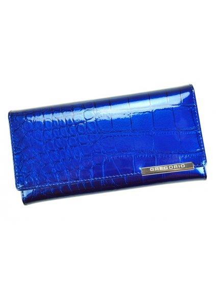 Dámská kožená peněženka Gregorio BC-100 modrá