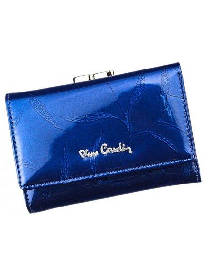 Dámská kožená peněženka Pierre Cardin 02 LEAF 117 modrá