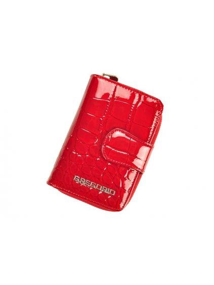 Dámská kožená peněženka Gregorio BC-115 červená