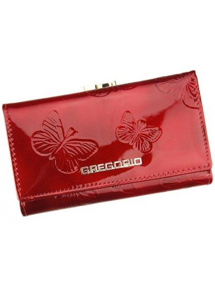 Dámská kožená peněženka Gregorio BT-108 červená