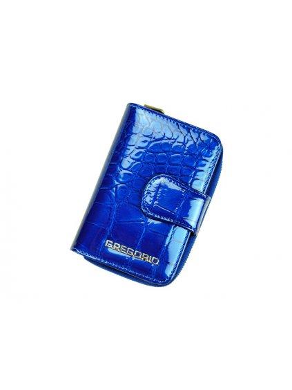 Dámská kožená peněženka Gregorio BC-115 modrá