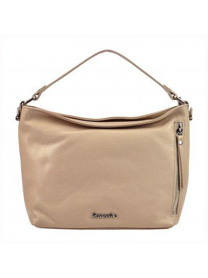 Kožená kufříková kabelka  Patrizia Piu 318-074 růžová