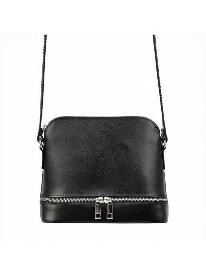 Kožená crossbody kabelka Gregorio 510 černá