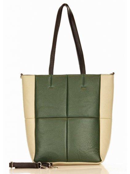 41979 kozena kabelka pres rameno mazzini m264 zelena