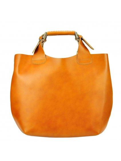 KKožená shopper bag kabelka Alexia 846 0008 Vrstva 1