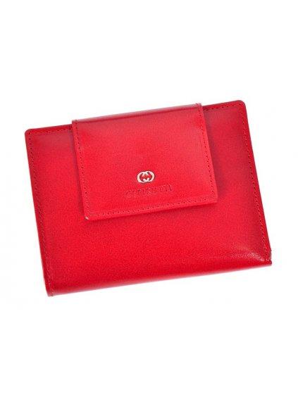 Dámská kožená peněženka Cefirutti 70613-9 červená
