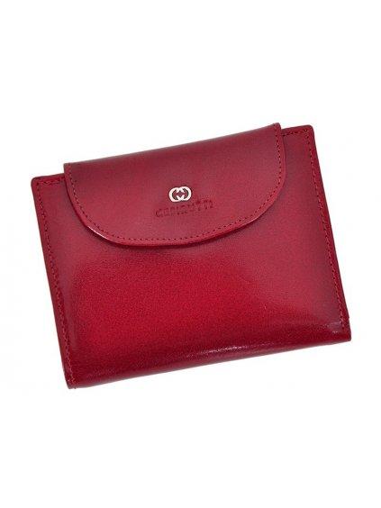Dámská kožená peněženka Cefirutti 70613 červená