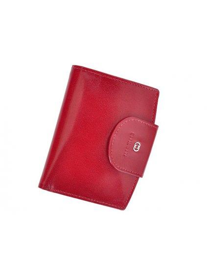 Dámská kožená peněženka Cefirutti 70614 červená