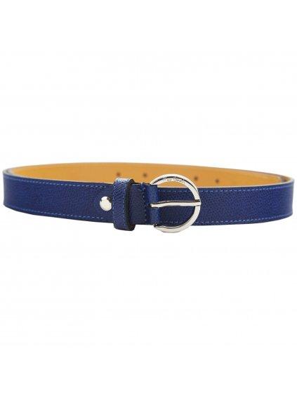 Dámský kožený opasek Pierre Cardin 8014/25 MELODY S tmavě modrý