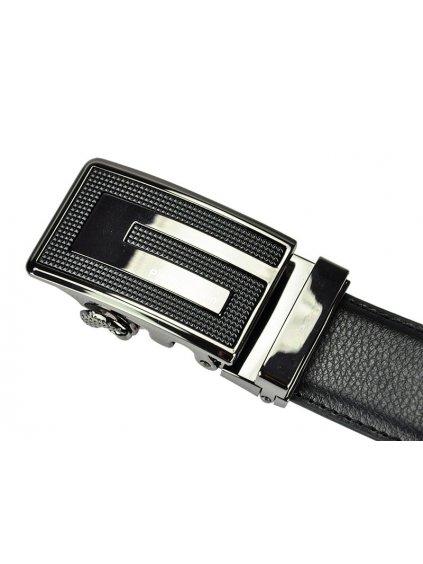 Pánský kožený opasek Pierre Cardin 5062 HY02 tmavě hnědý
