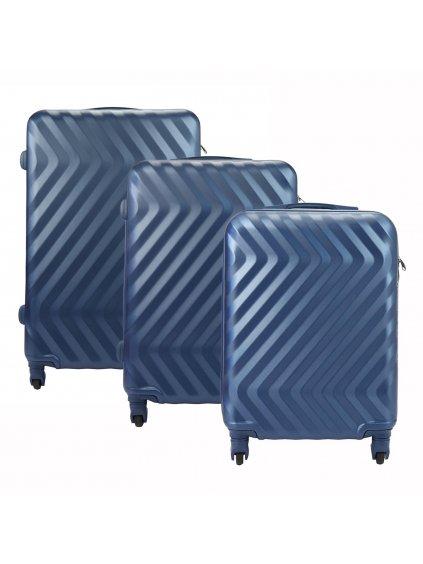 Sada kufrů Pierre Cardin Pierre Cardin 8089 RUIAN19 x3 Z modrá