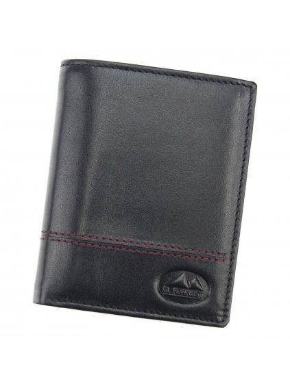 Pánská kožená peněženka  EL FORREST 234-62 RFID černá