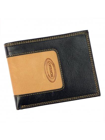 Pánská kožená peněženka B.Cavalli 1230 292E hnědá