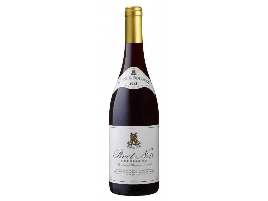 Léonce Bocquet 75cl AOC Bourgogne Pinot Noir 2018 haute définition