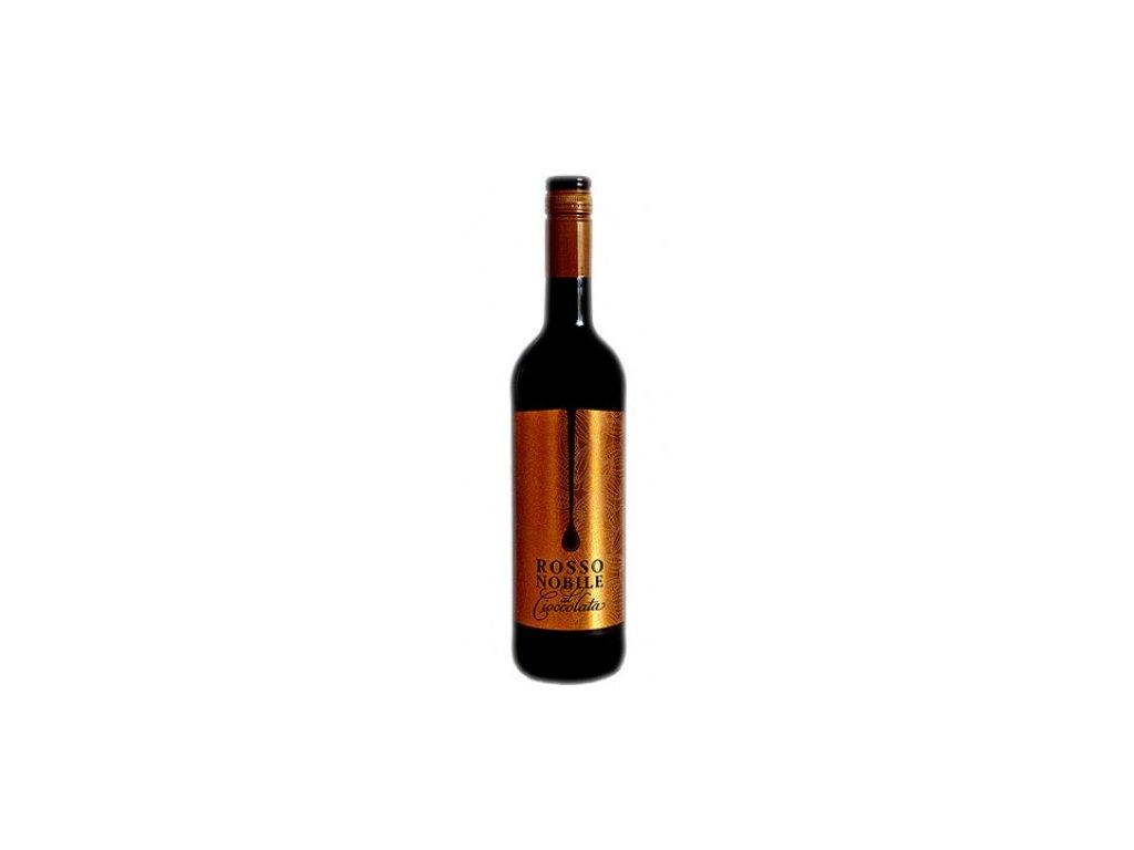 rosso nobile al cioccolata luxusni vina