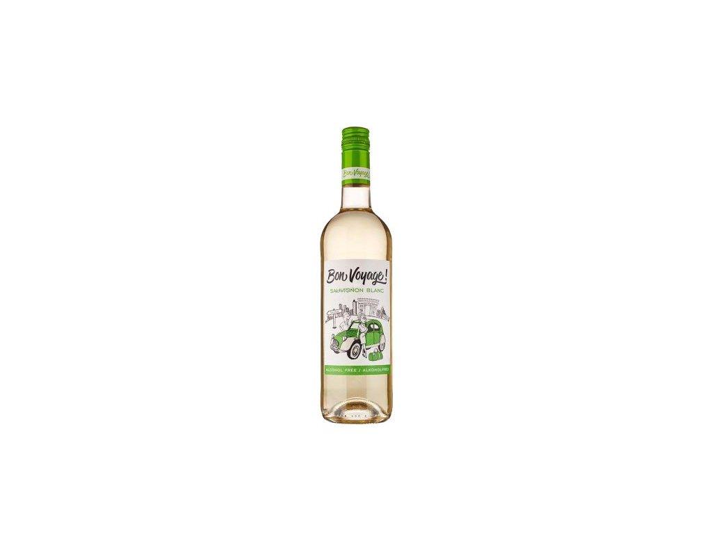 sauvignon blanc nealkoholicke vino bon voyage 0 75 l