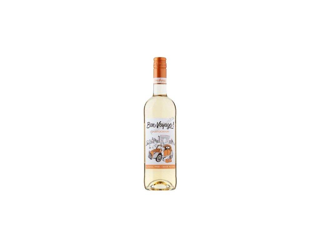 chardonnay nealkoholicke vino bon voyage 0 75 l