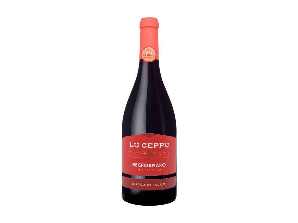 Masca DT Negroamaro IGP Puglia Lu Ceppu 15%  0,75l