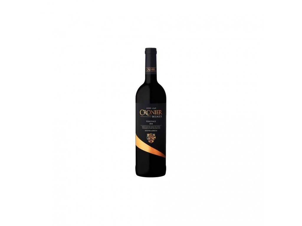 cronier wines pinotage 2017 range suche 075 l